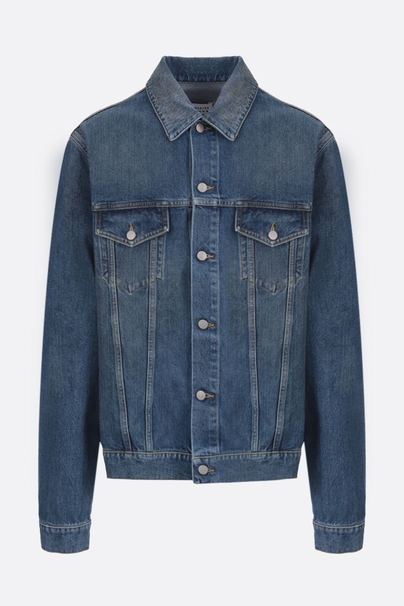 MAISON MARGIELA: giubbotto in denim_1