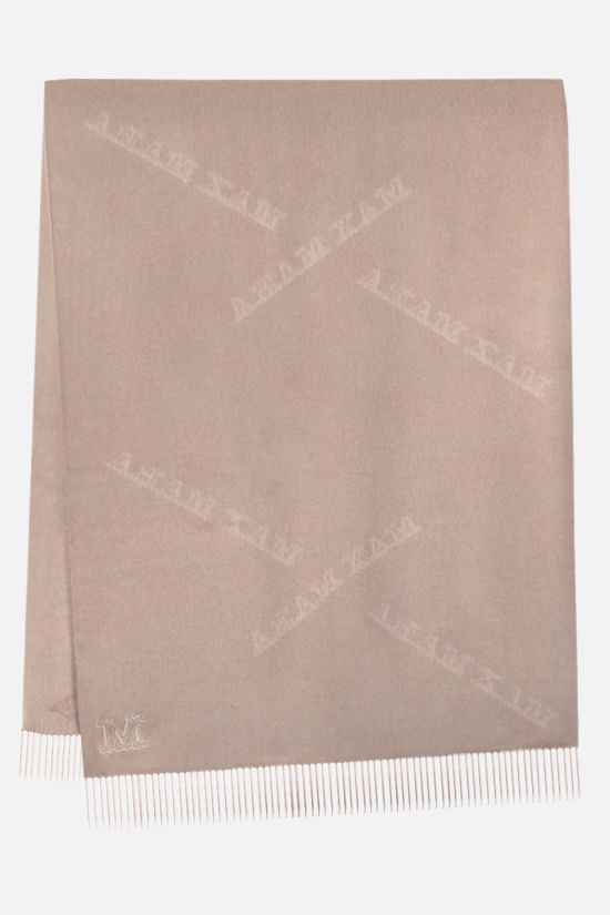MAX MARA: Wsklaus cashmere stole Color Neutral_2