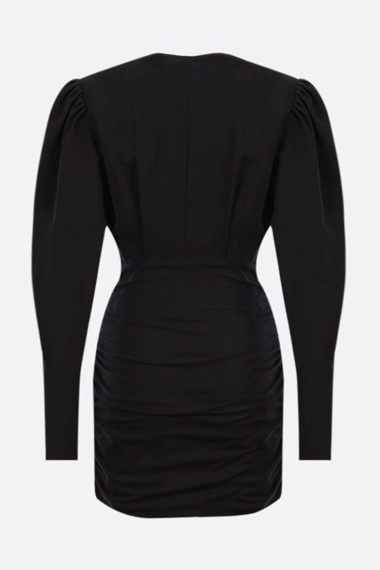 ISABEL MARANT: Stella stretch lyocell dress Color Black_2