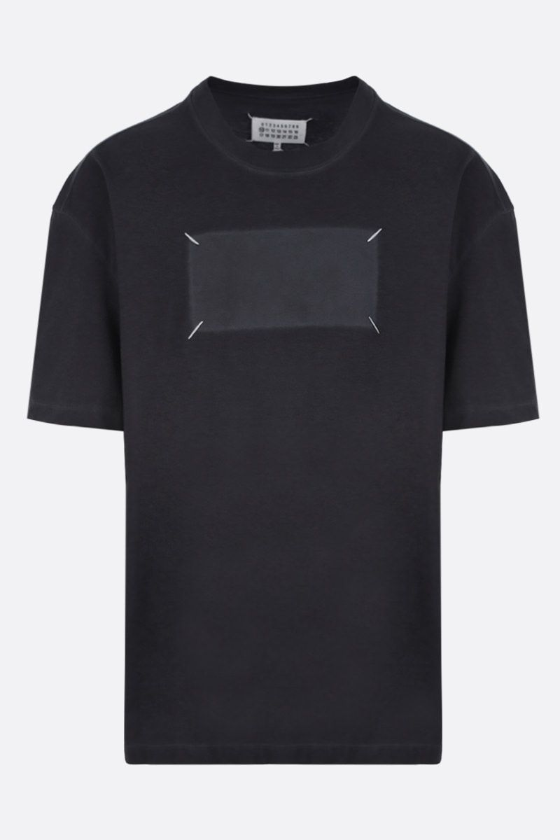 MAISON MARGIELA: Memory Of cotton oversized t-shirt Color Black_1