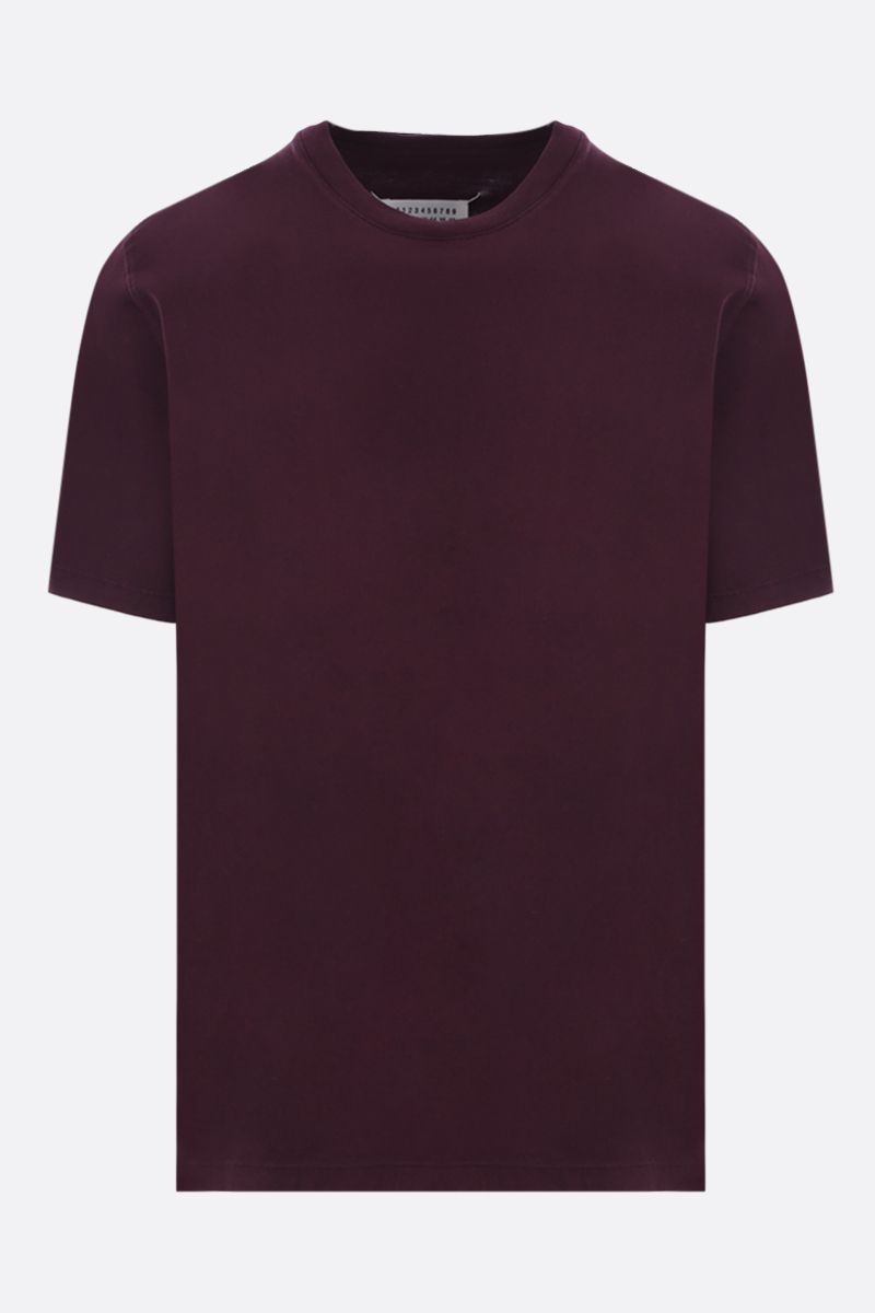 MAISON MARGIELA: cotton t-shirt Color Red_1