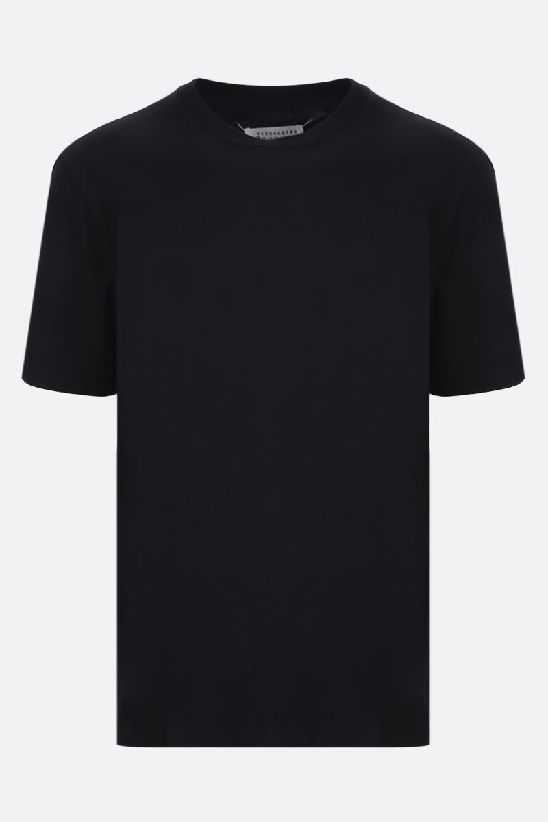MAISON MARGIELA: cotton t-shirt Color Black_1