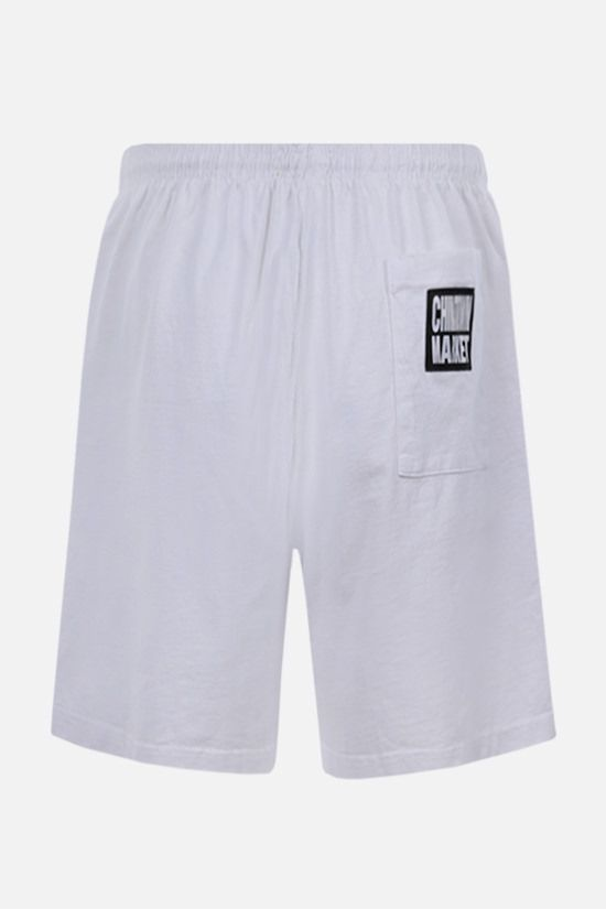 CHINATOWN MARKET: Smiley sweatshorts Color White_2