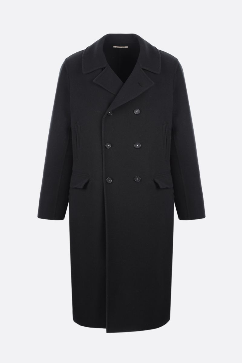 MASSIMO ALBA: Daimler double-breasted wool coat Color Grey_1