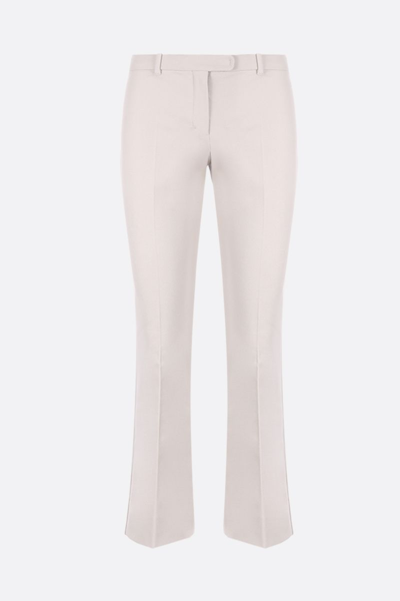 'S MAX MARA: Umanita cropped pants in stretch cover Color Neutral_1