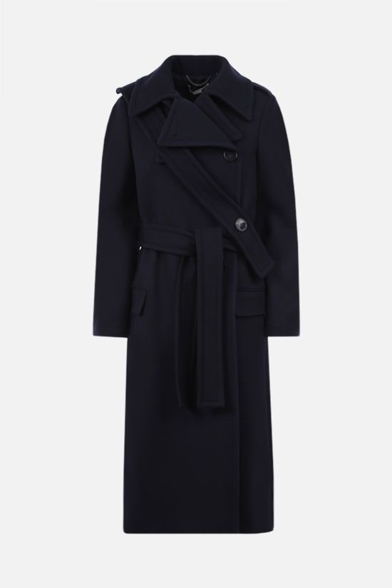 STELLA McCARTNEY: Sophia wool coat Color Blue_1