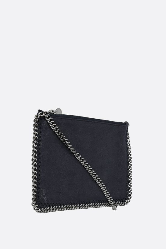 STELLA McCARTNEY: Falabella pouch in Shaggy Deer Color Blue_2