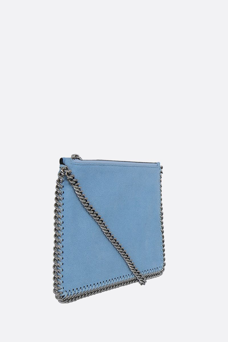 STELLA McCARTNEY: Falabella clutch in Shaggy Deer Color Blue_2
