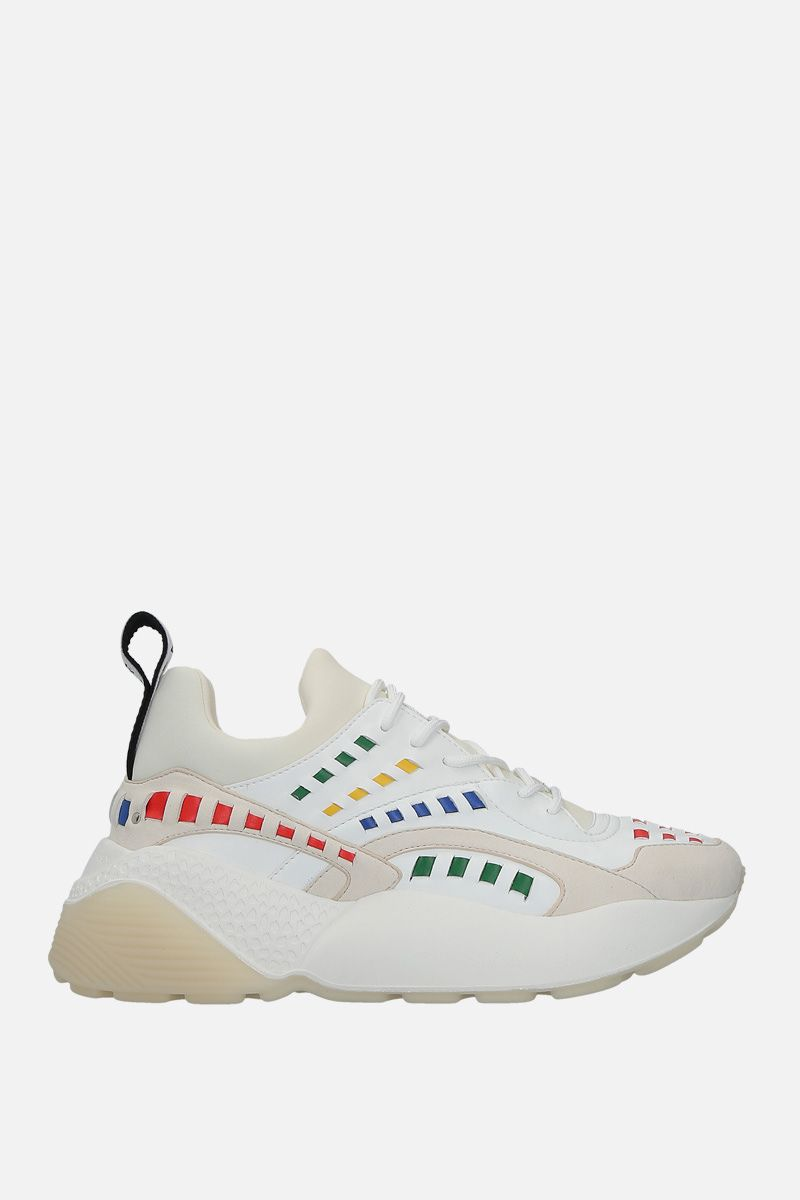 STELLA McCARTNEY: Eclypse sneakers in Alter Nappa and neoprene Color Multicolor_1