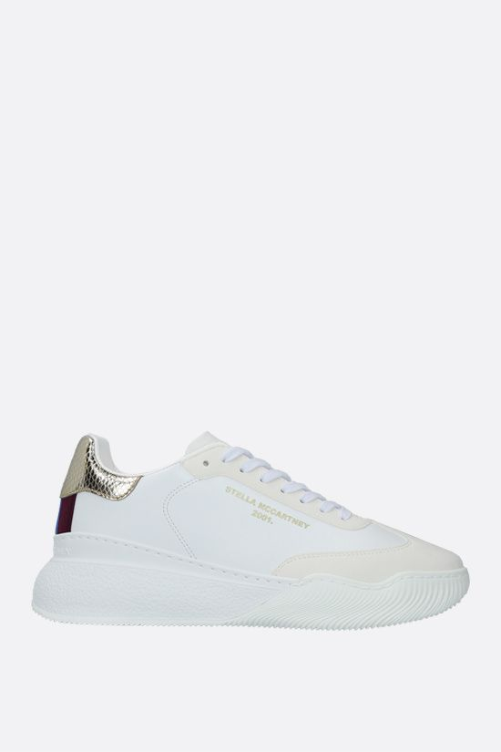 STELLA McCARTNEY: Loop sneakers in Alter Nappa Color White_1