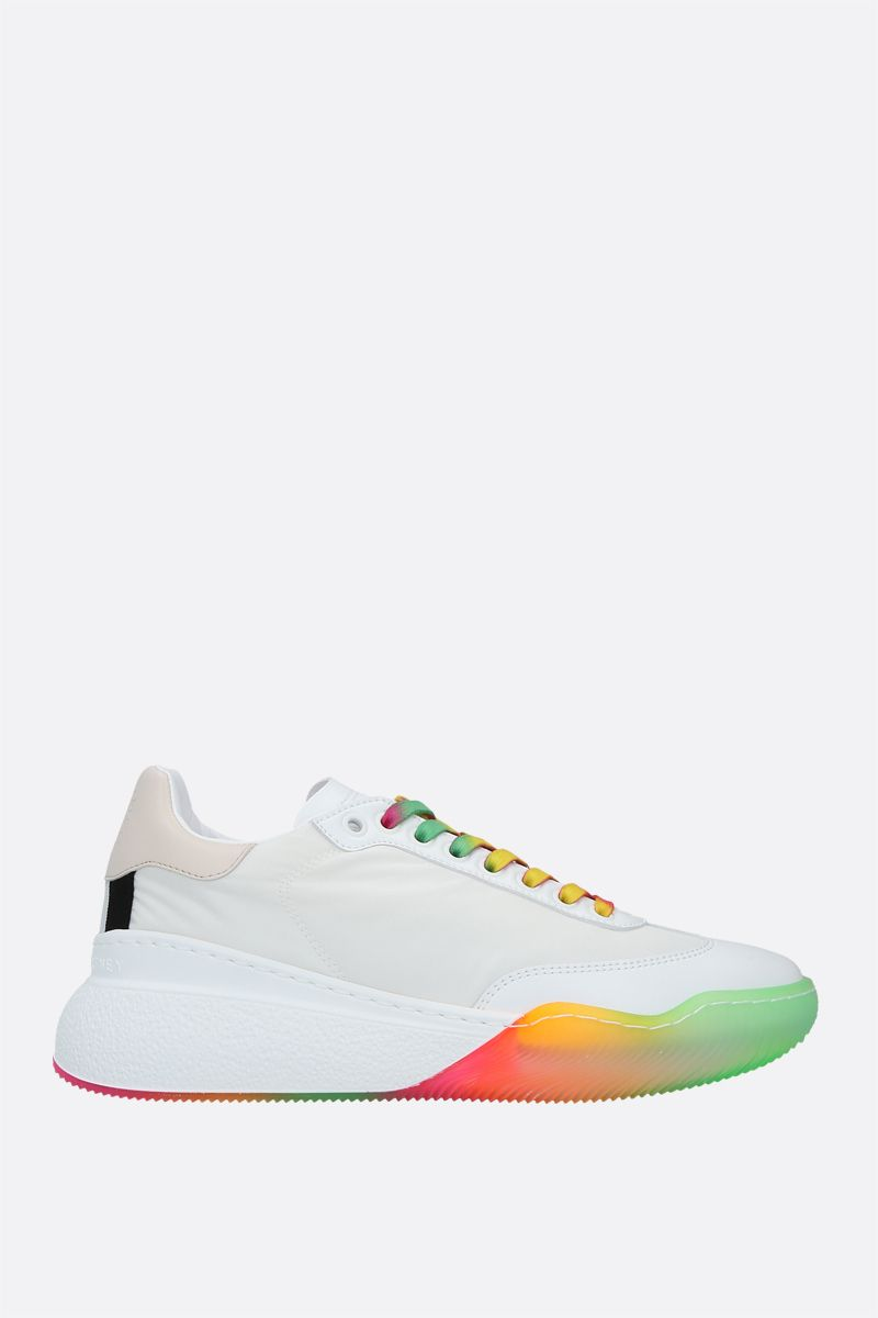 STELLA McCARTNEY: Loop recycled nylon and Alter Nappa sneakers Color White_1
