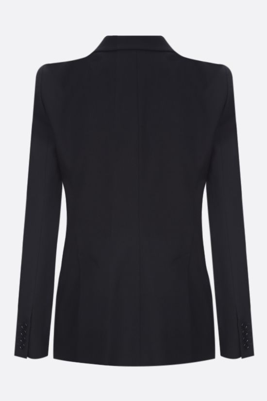 ALEXANDER McQUEEN: single-breasted wool jacket Color Black_2
