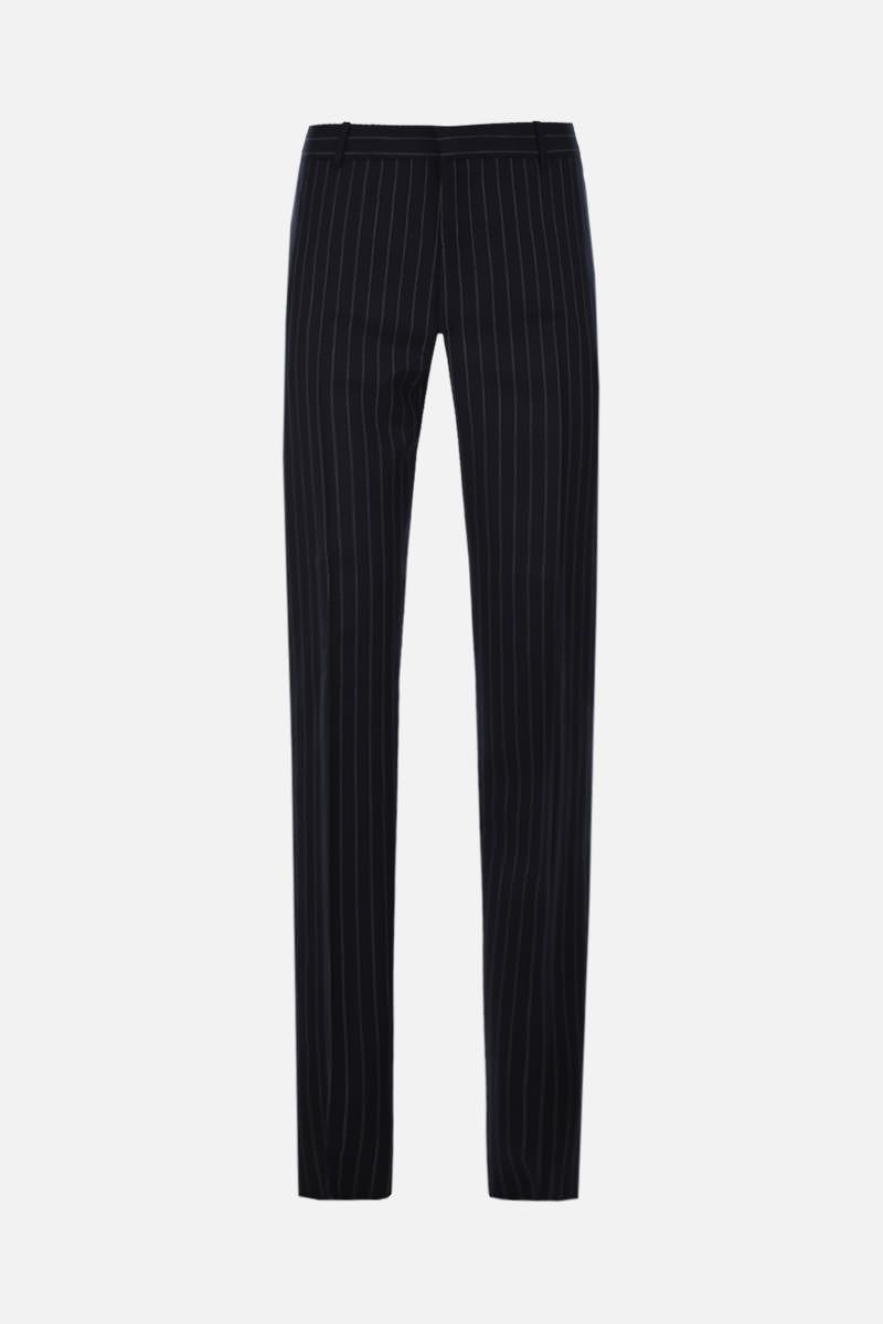 ALEXANDER McQUEEN: pinstriped wool slim-fit pants Color Multicolor_1