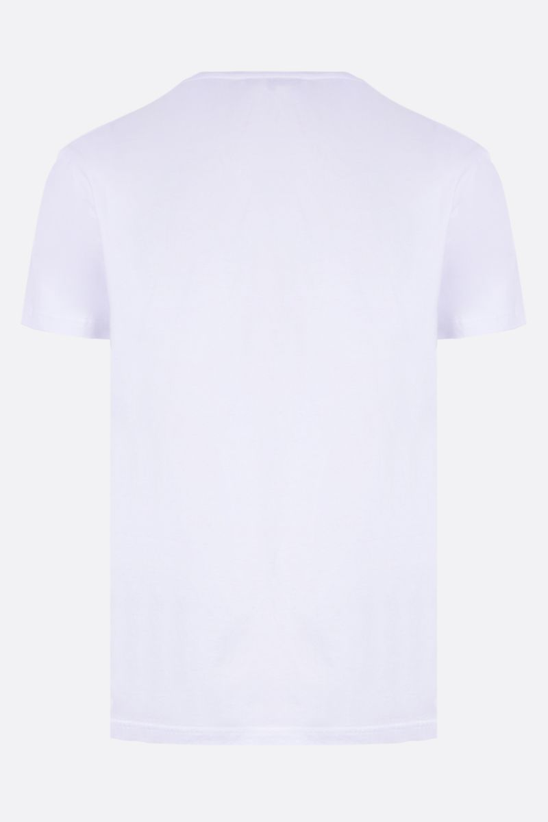 ALEXANDER McQUEEN: photographic print cotton t-shirt Color White_2