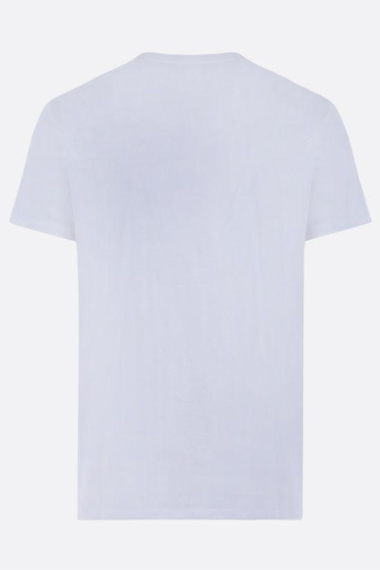 ALEXANDER McQUEEN: Skull print cotton t-shirt Color White_2