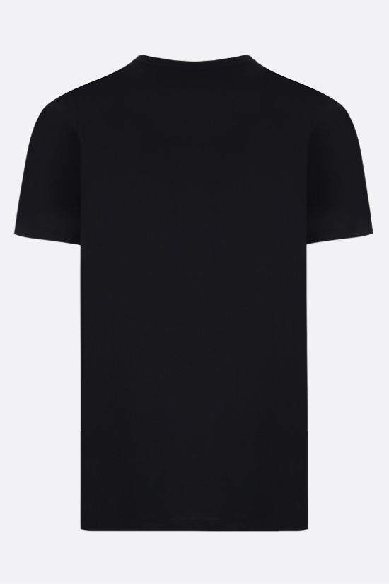 ALEXANDER McQUEEN: oversize Skull print cotton t-shirt Color Black_2