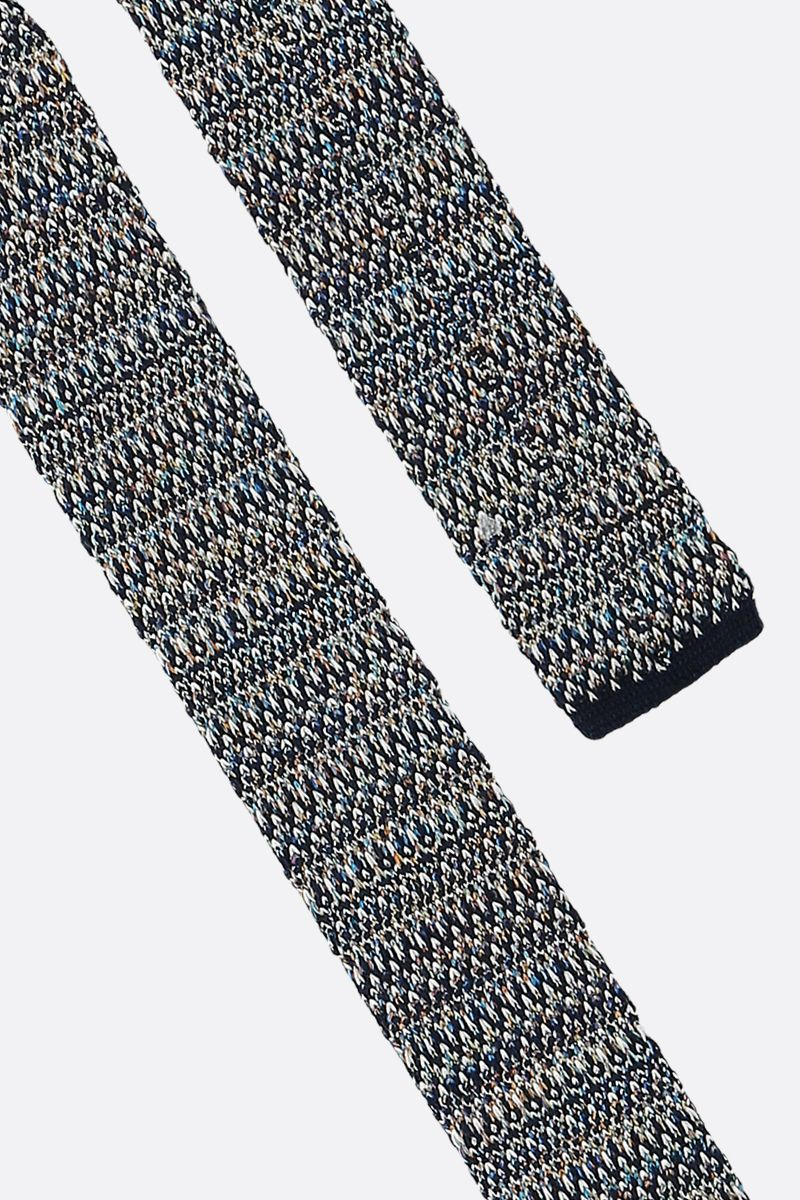 MISSONI: cotton silk jacquard tie Color Multicolor_3