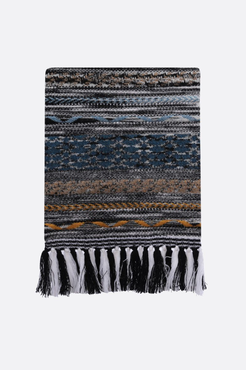 MISSONI: cashmere knit scarf Color Multicolor_1