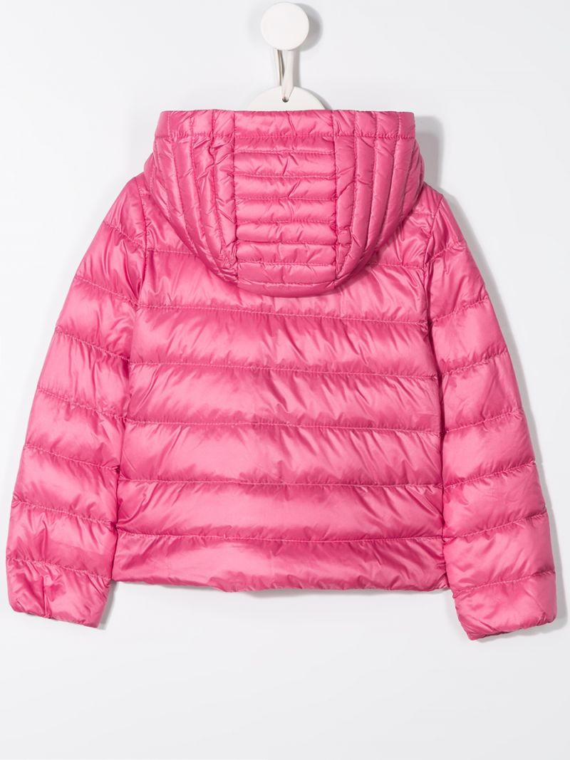 MONCLER KIDS: Glycine down jacket in nylon Color Pink_2