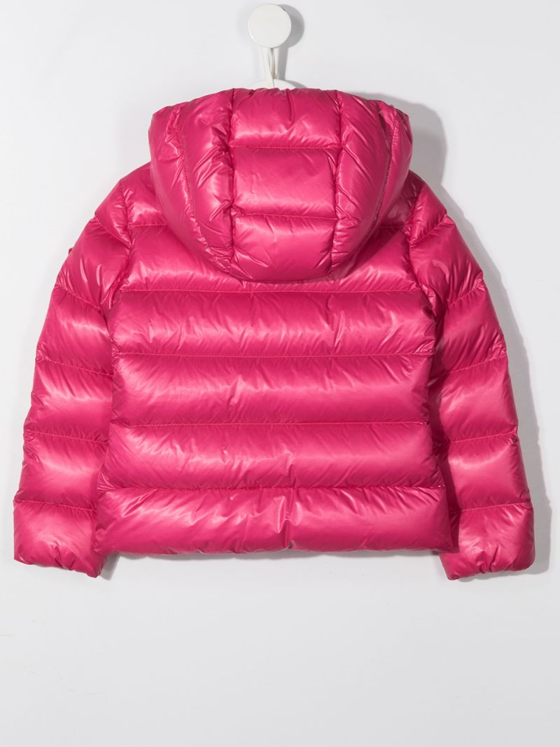 MONCLER KIDS: Sunday nylon down jacket Color Pink_2