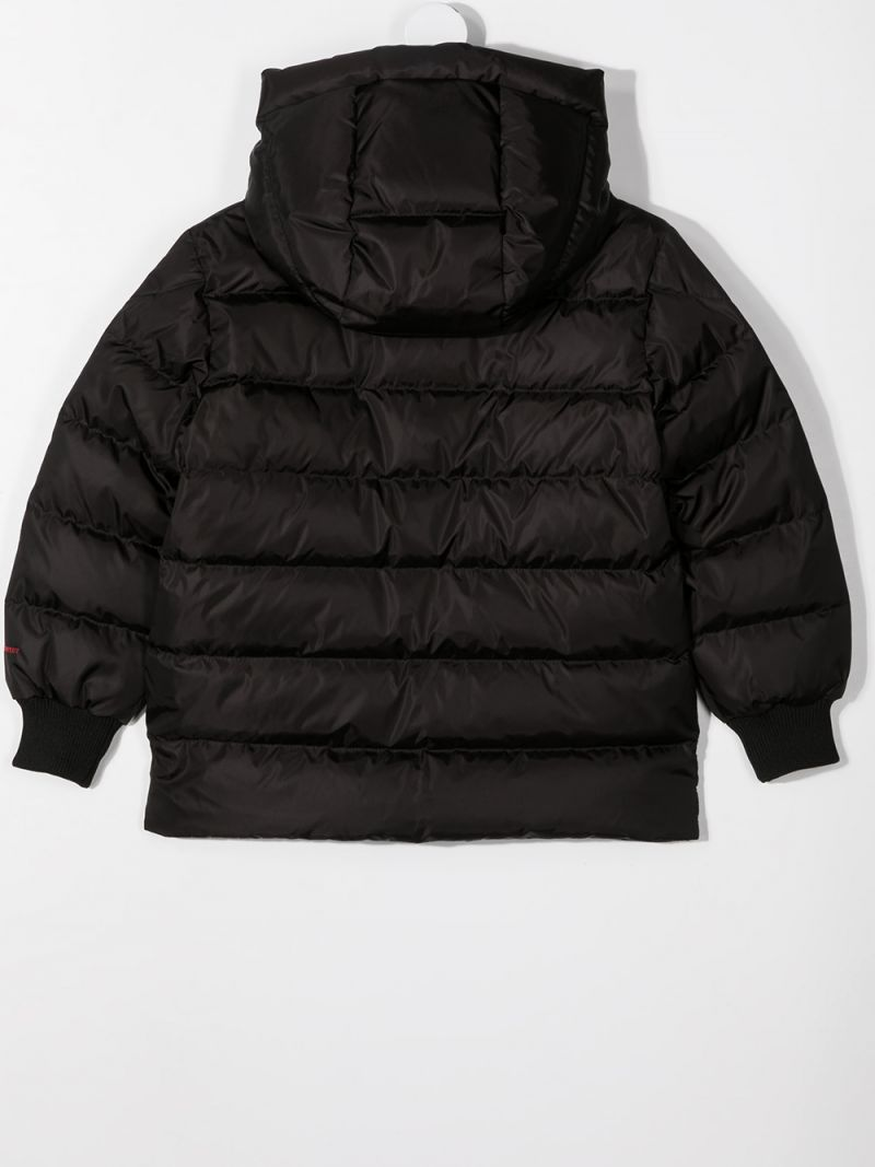 MONCLER KIDS: Gaite nylon down jacket Color Black_2