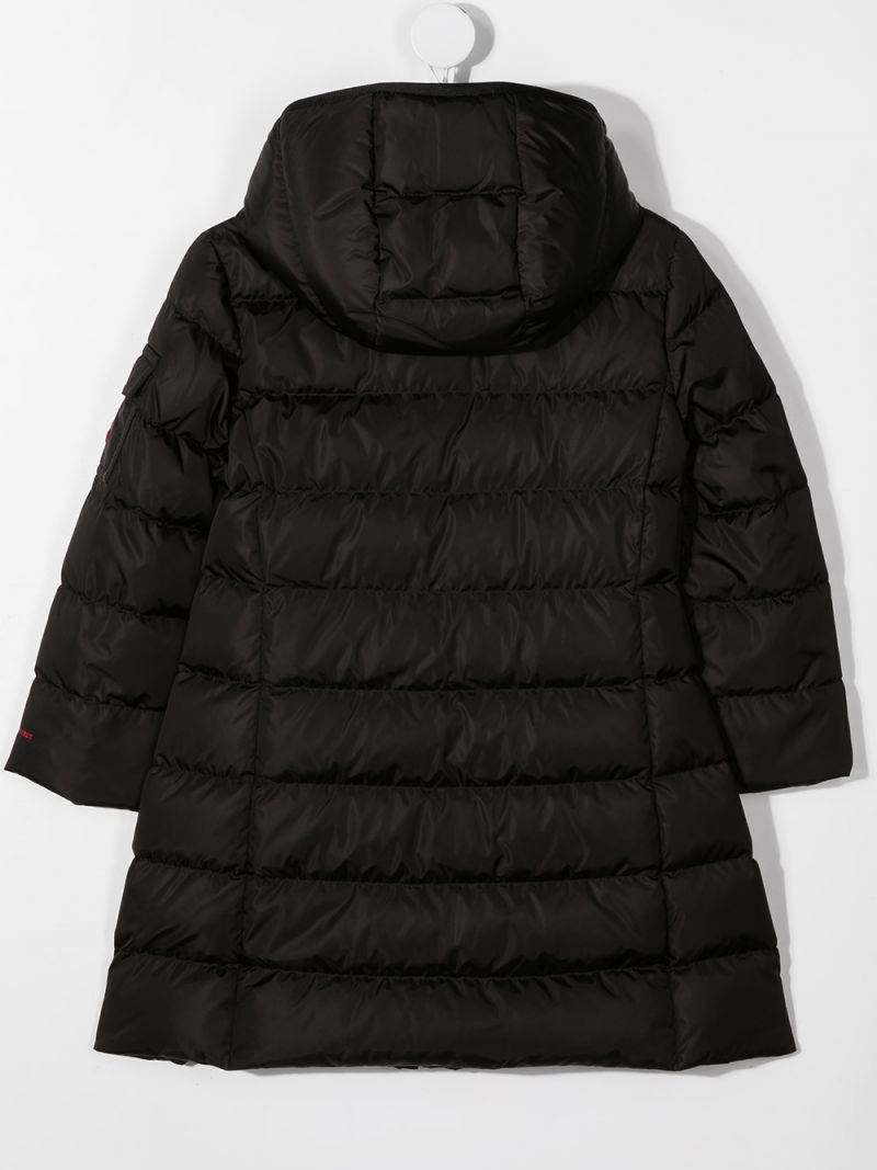 MONCLER KIDS: Lemenez nylon down jacket Color Black_2