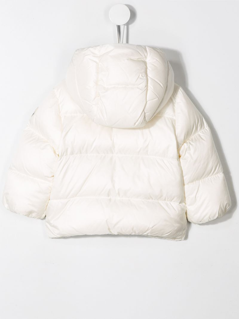 MONCLER KIDS: Quinson nylon down jacket Color Neutral_2