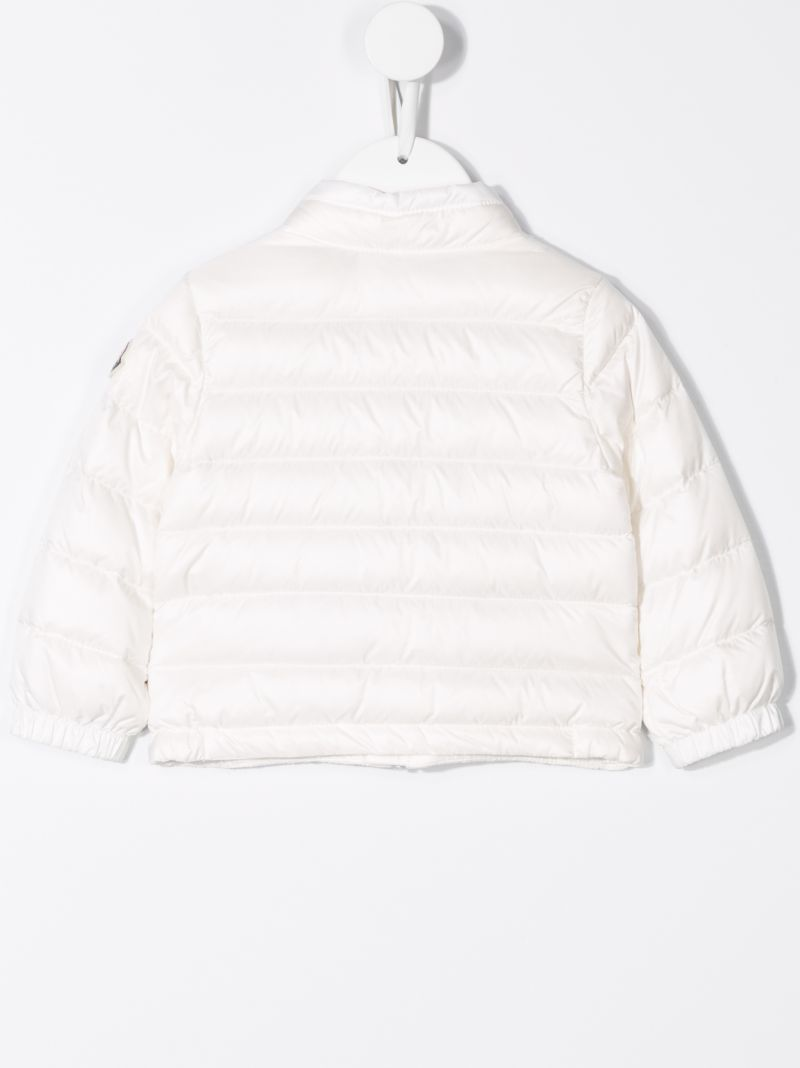 MONCLER KIDS: Acorus technical fabric down jacket Color White_2