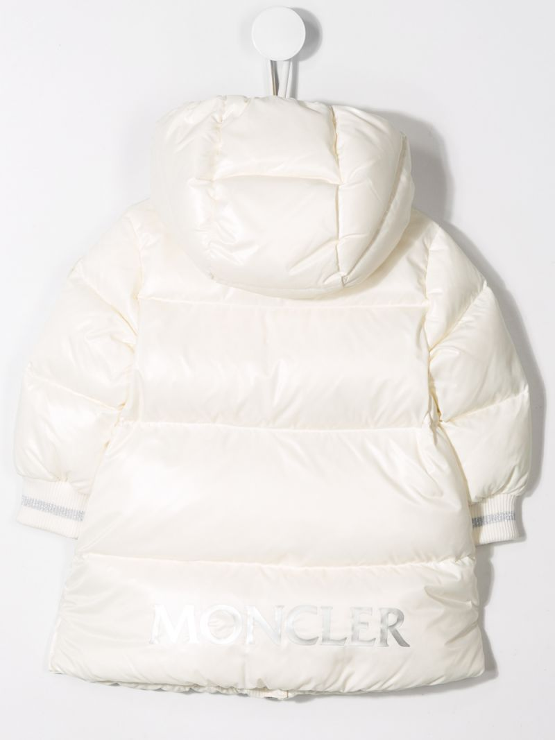 MONCLER KIDS: Gliere down jacket in shiny nylon Color Neutral_2