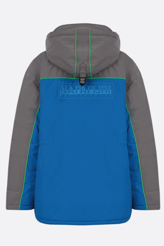 NAPA by MARTINE ROSE: Epoch 2 technical fabric padded jacket Color Blue_2