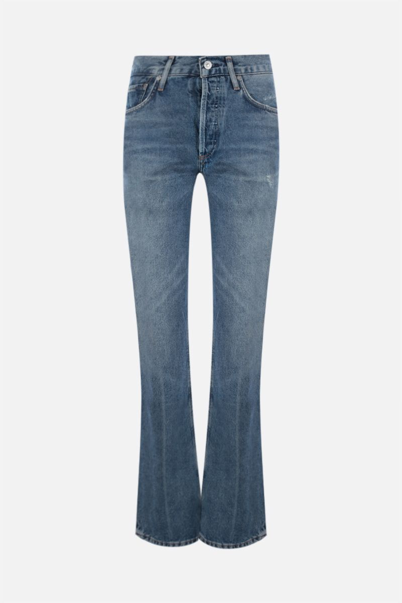 CITIZENS OF HUMANITY: Libby bootcut jeans Color Blue_1