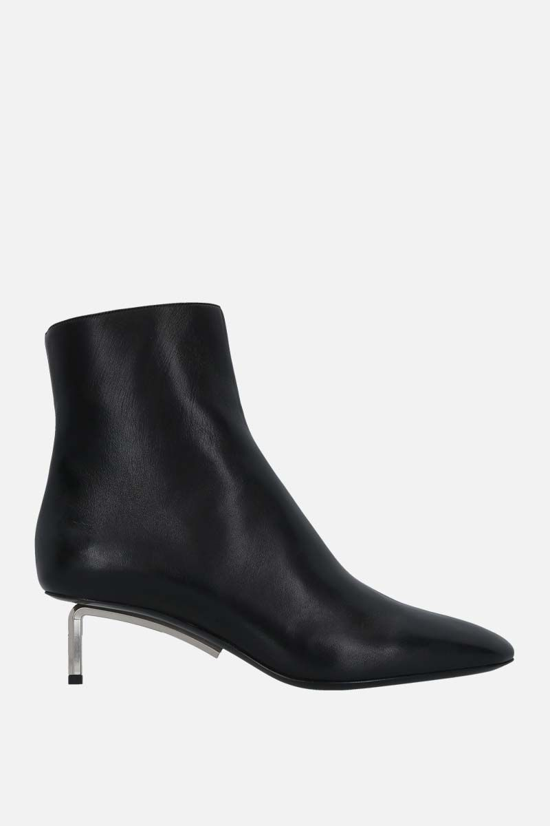 OFF WHITE: Allen nappa ankle boots Color Black_1