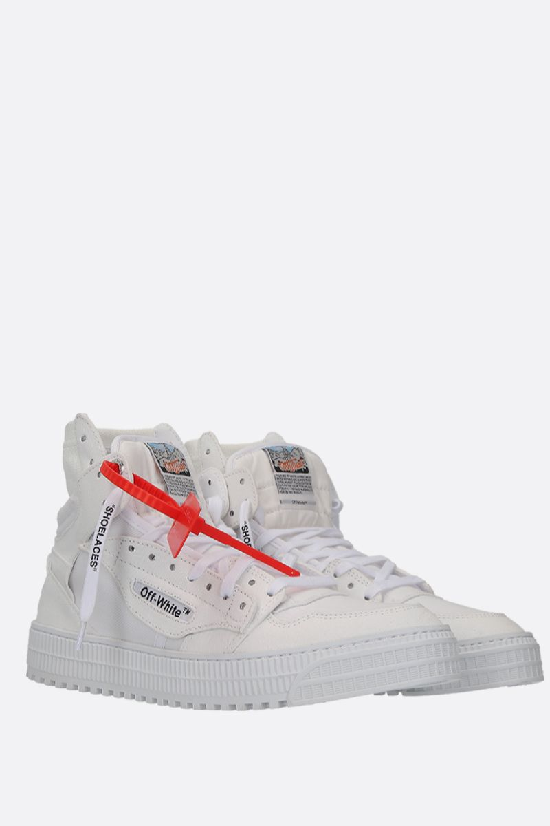 OFF WHITE: Off Court 3.0 sneakers in canvas Color White_2