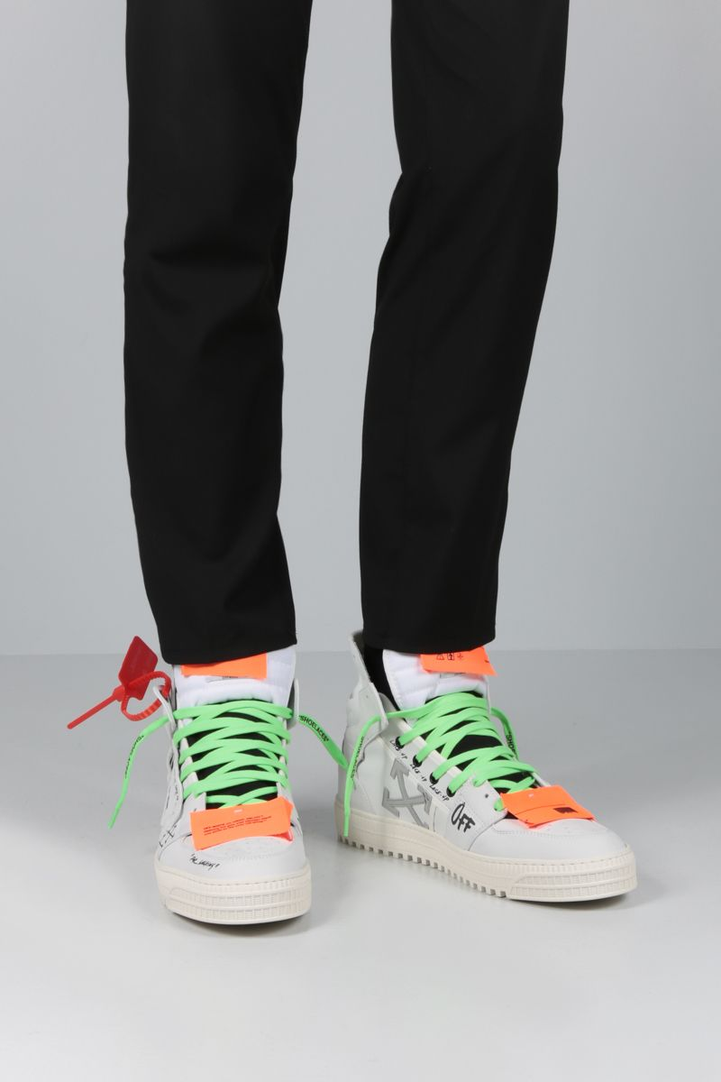 OFF WHITE: Off Court 3.0 sneakers in nabuk Color White_2