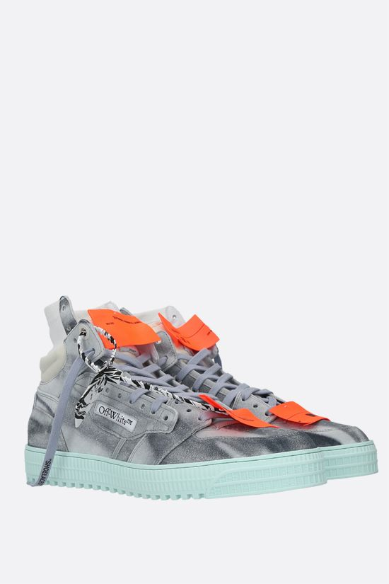 OFF WHITE: sneaker high-top Off Court in suede Colore Multicolore_2