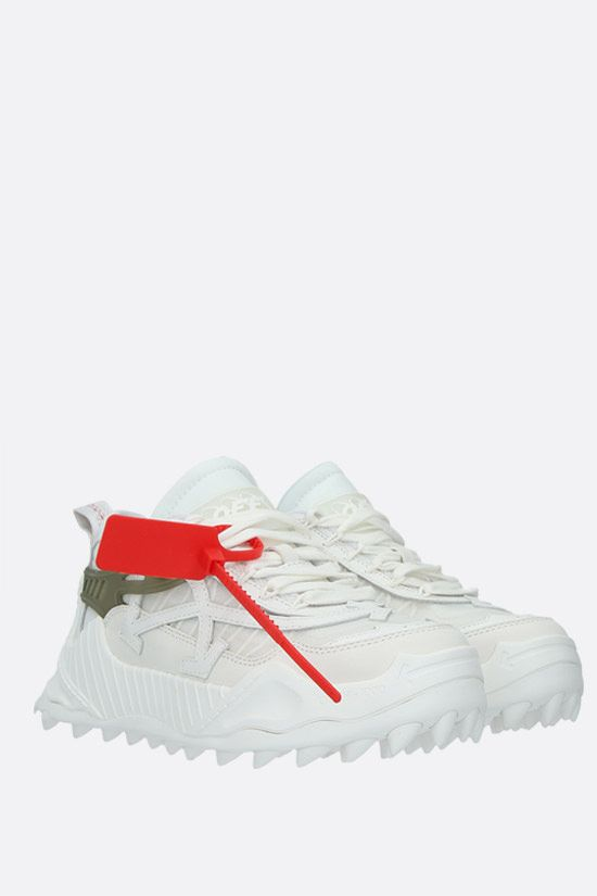 OFF WHITE: Odsy-1000 low-top sneakers in a mix of materials Color White_2