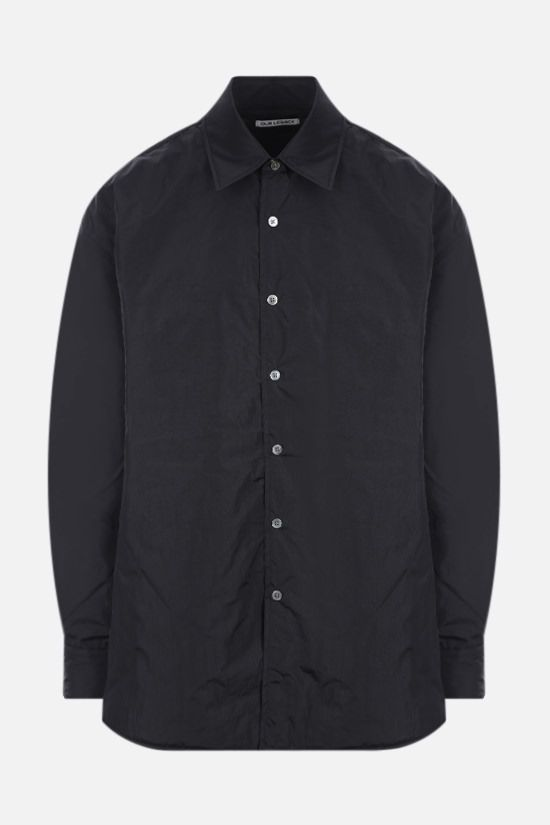 OUR LEGACY: nylon padded overshirt Color Black_1
