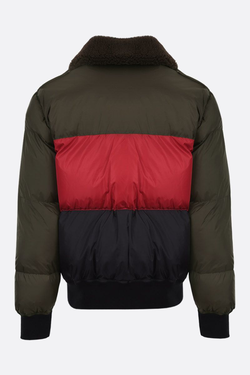 PALM ANGELS: Desert Logo nylon padded jacket Color Multicolor_2