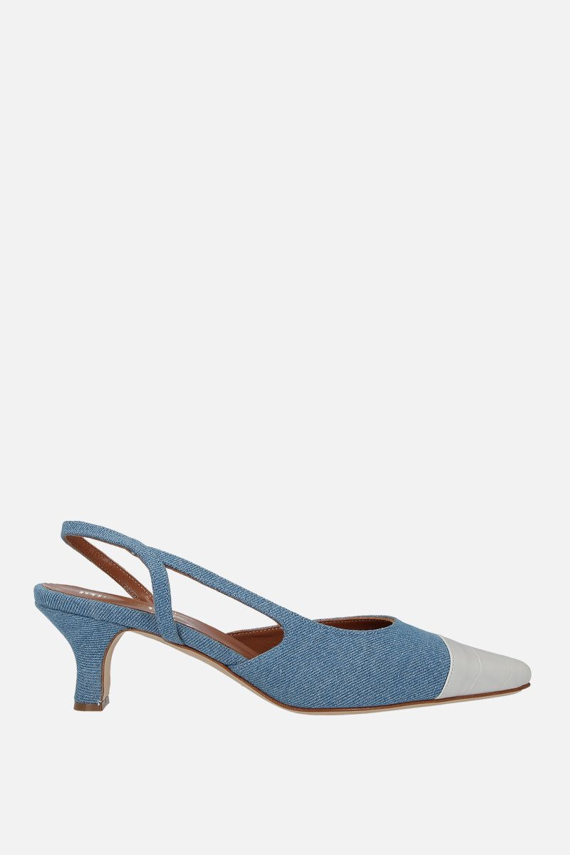 PARIS TEXAS: denim slingbacks_1