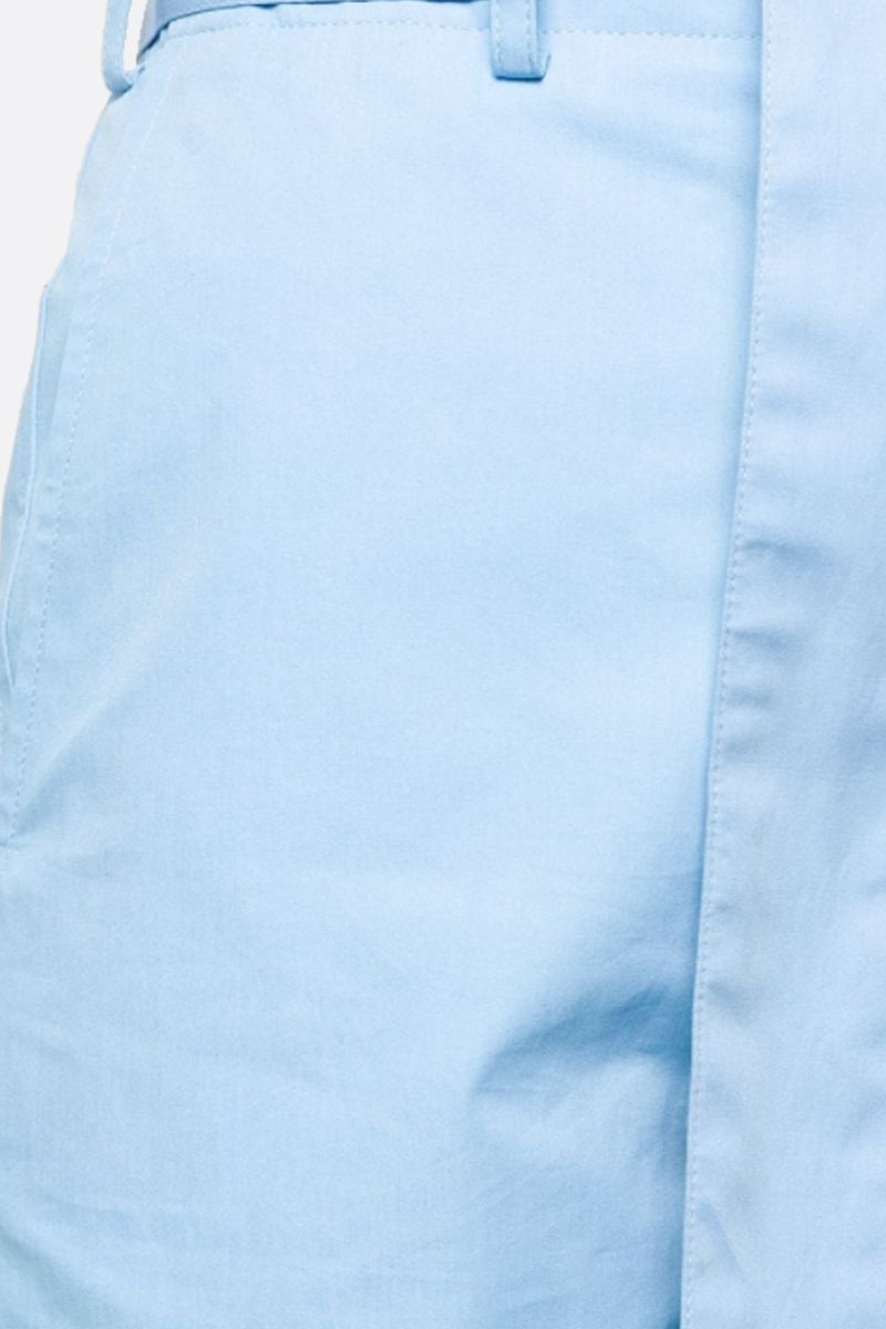 PLAN C: cotton belted shorts Color Blue_2