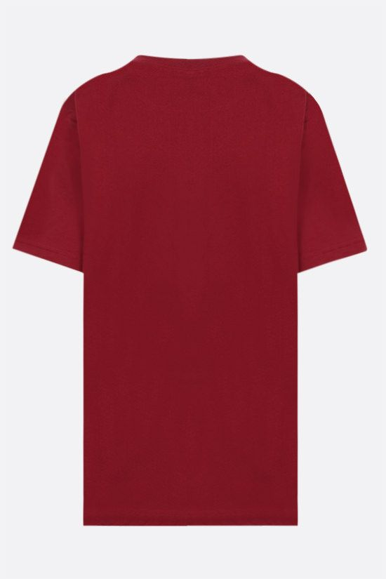 REEBOK X VICTORIA BECKHAM: Reebok Victoria Beckham cotton t-shirt Color Red_2