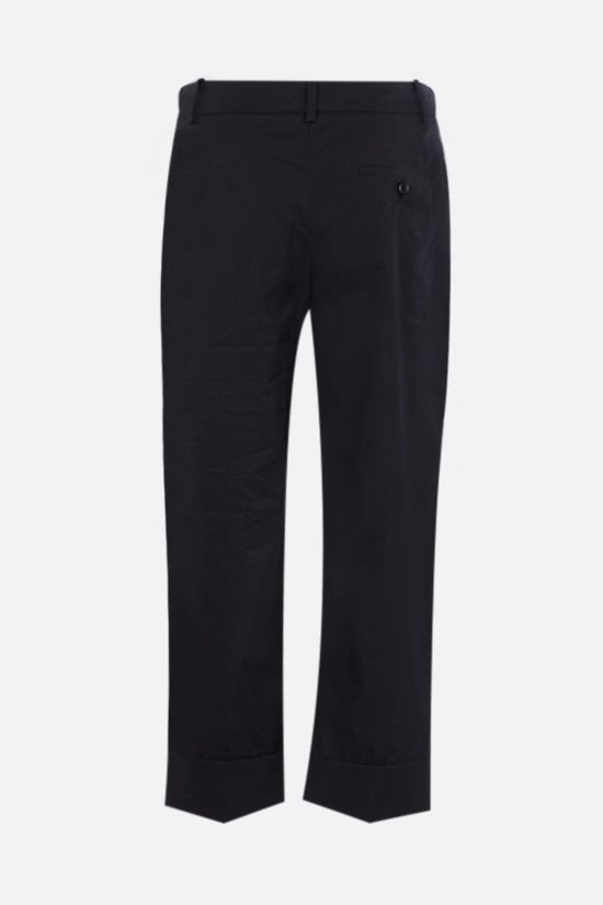 SIMONE ROCHA: cotton cropped pants Color Black_2