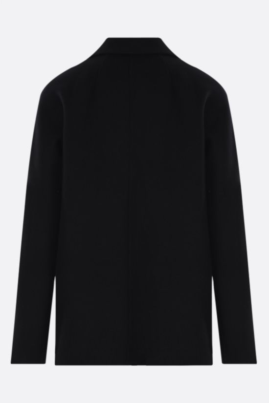 'S MAX MARA: Dina wool double-breasted jacket Color Black_2