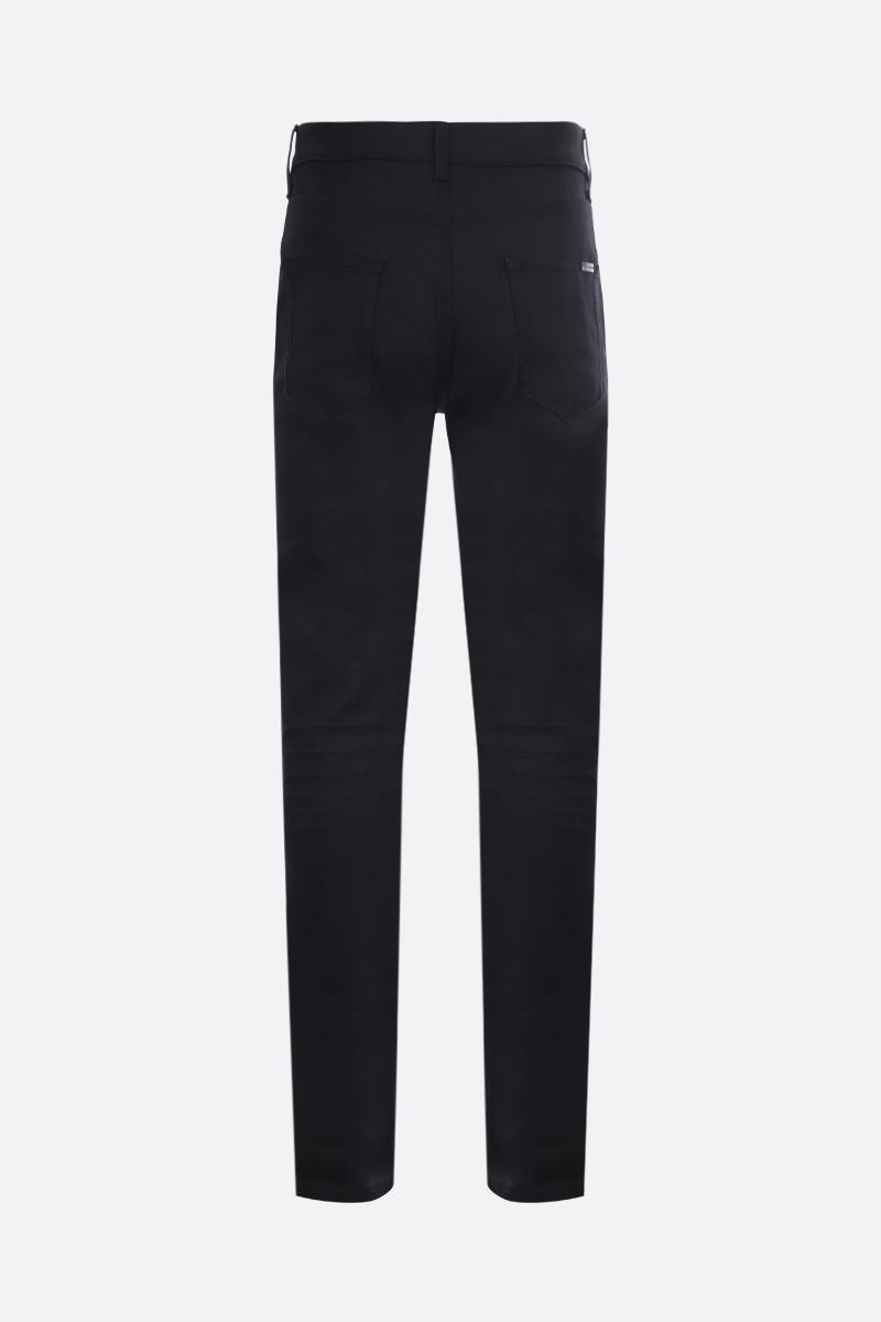 SAINT LAURENT: jeans skinny-fit Colore Nero_2
