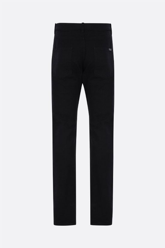 SAINT LAURENT: jeans slim-fit Colore Nero_2