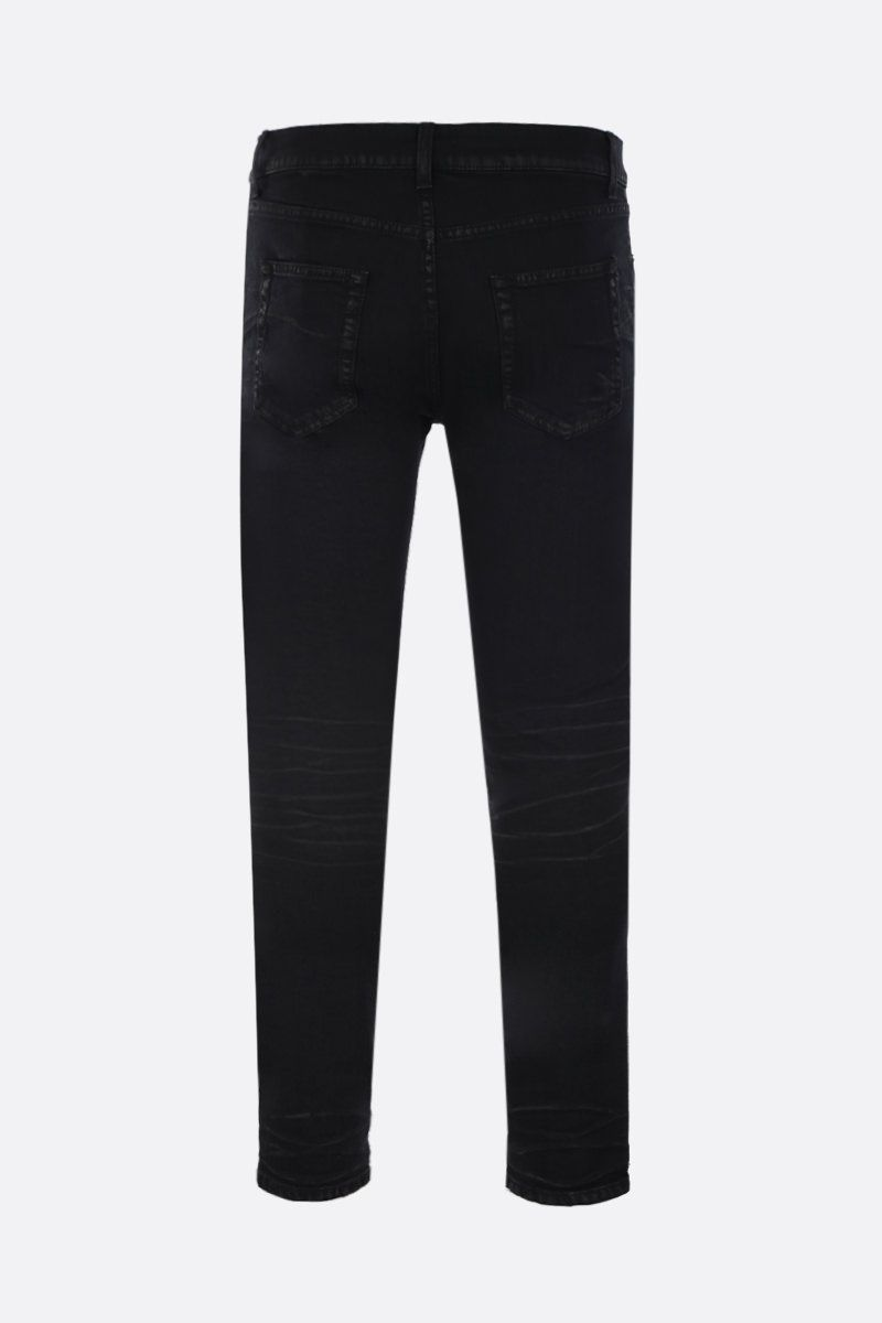 SAINT LAURENT: skinny jeans Color Black_2