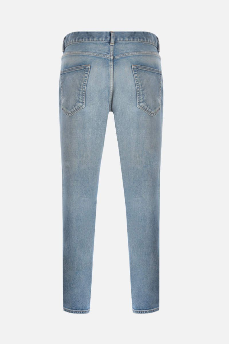 SAINT LAURENT: jeans skinny Colore Blu_2
