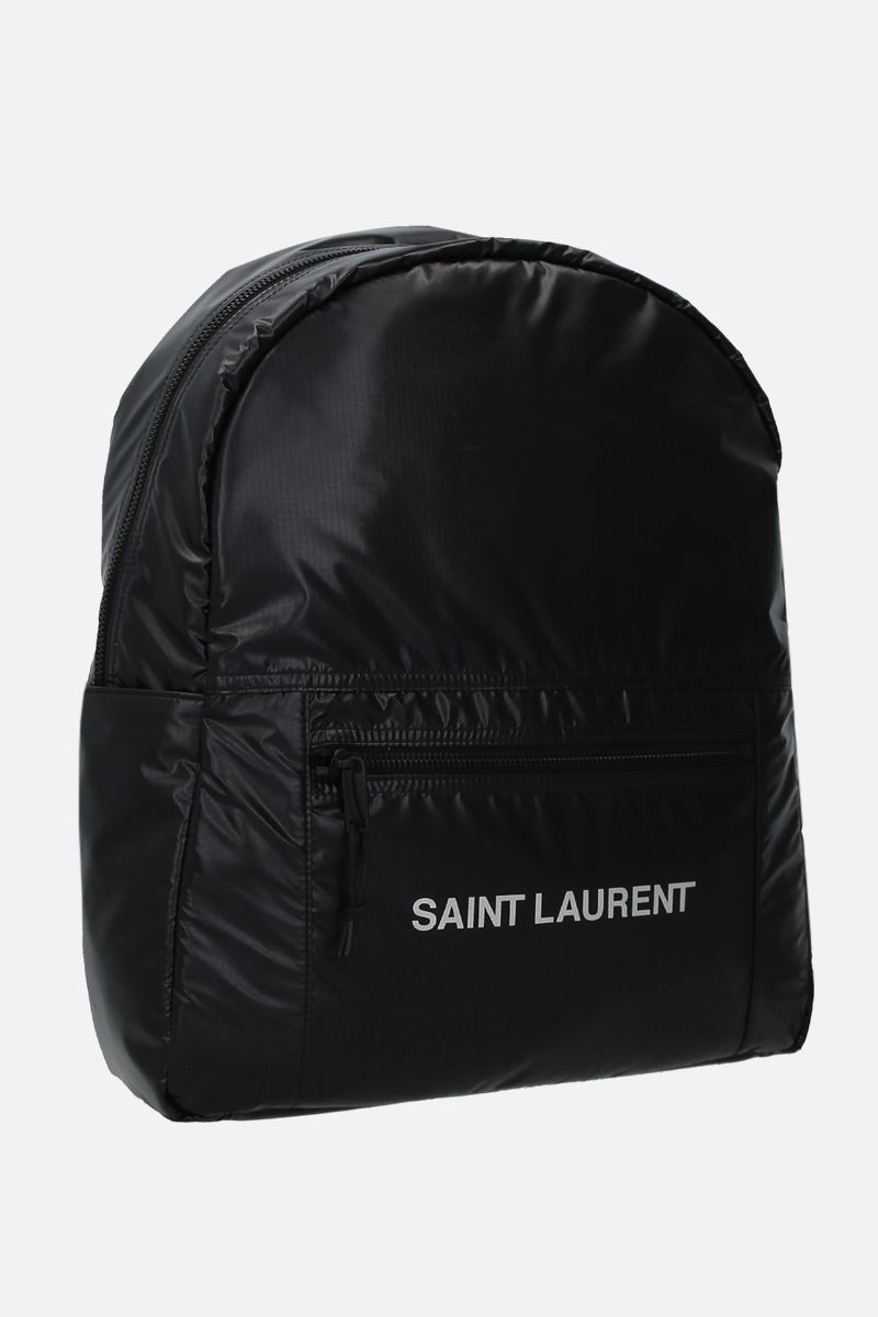 SAINT LAURENT: zaino Nuxx in nylon Colore Nero_2