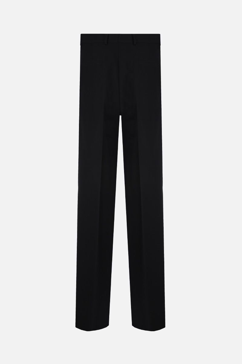 JIL SANDER: wool straight-fit pants Color Black_2