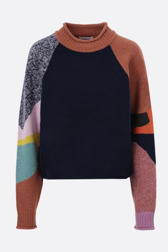 SEE BY CHLOÈ: wool blend pullover Color Multicolor_1